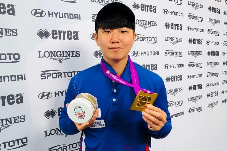 新竹雙箭后譚雅婷、陳怡瑄 勇奪世界射箭錦標賽 2金 1銅