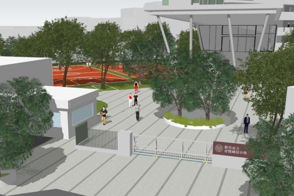 投入1.5億啟動全市14處通學步道改善 育賢國中591公尺通學步道9月啟用